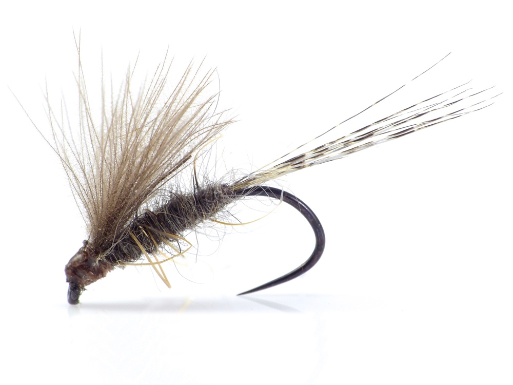 Yellow Olive CDC Elk Hair Caddis Sedge  Mayfly Flies Trout Grayling Fly Fising