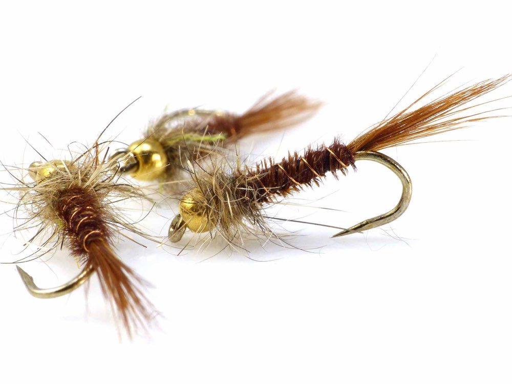 Cove Pheasant Tail Nymphs Stillwater Fly Fishing Flies for Brown Rainbow Trout
